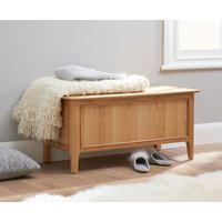 Sadie Oak Blanket Box