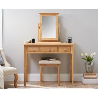Sadie Oak Dressing Table