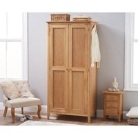 Read more about Sadie oak two door wardrobe