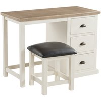 Product photograph showing Stafford Dressing Table And Stool