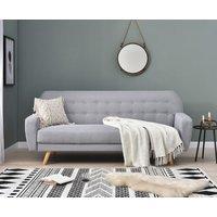 Scala Grey Linen Sofa Bed