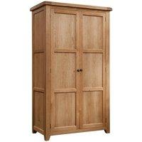 Somerton Oak Double Wardrobe
