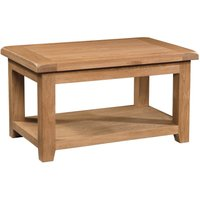 Product photograph showing Somerton Oak Standard Coffee Table