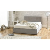 Product photograph showing Sterling Stone Fabric Ottoman Small Double Bed