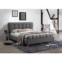 Oklahoma Grey Small Double Bed