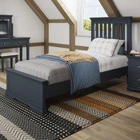 Simone Dark Grey Single Bed