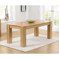 Product photograph showing Ex-display Thames 150cm Oak Dining Table