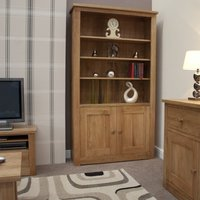 Messina Oak Bookcase