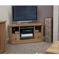 Read more about Messina oak corner tv cabinet