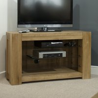 Read more about Milan oak corner tv unit
