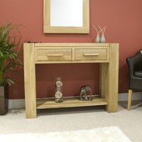 Read more about Milan oak console table