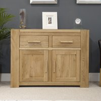 Milan 110cm Oak Sideboard