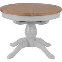 Kayla 110cm Round Extending Table