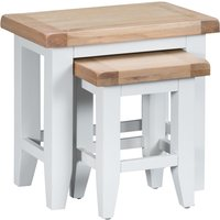 Read more about Eden oak and white nest of 2 tables