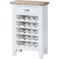 Read more about Eden oak and white wine cabinet