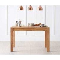 Ex-display Verona 120cm Oak Dining Table