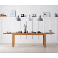 Read more about Verona 180cm solid oak extending dining table