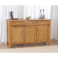 Verona 140cm Oak Sideboard