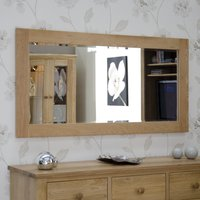 Product photograph showing Rohan Oak 1500 X 750 Mirror
