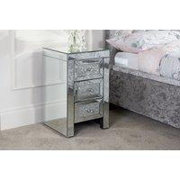Valera 3 Drawer Bedside Table