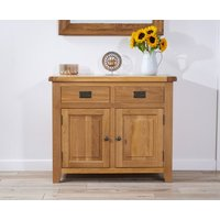 Product photograph showing Yateley 100cm Oak Sideboard