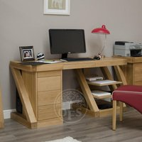 Read more about Infinity designer oak large desk