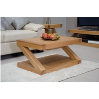 Read more about Infinity 90cm solid oak coffee table