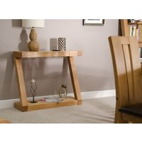 Read more about Infinity oak console table