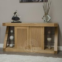 Read more about Infinity oak designer large sideboard