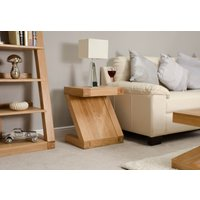 Read more about Infinity solid oak side table