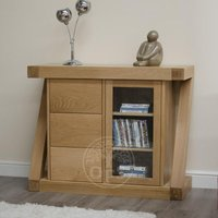 Read more about Infinity oak designer oak mini sideboard
