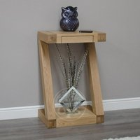 Read more about Infinity oak designer small console table