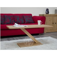 Read more about Infinity solid oak modern coffee table