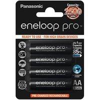 Panasonic Eneloop Pro 4x AA 2500mAh Batterie (BK-3HCDE/4BE)
