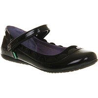 Kickers Verda Scallop (jr) BLACK