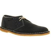 Clarks Originals Jink Lace Shoe NAVY TEXTILE