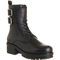 Vagabond Kayla Strap boots BLACK LEATHER