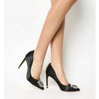 shop for Ted Baker Torela High Heel BLACK SATIN at Shopo