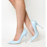 Office Onto Point Court LIGHT BLUE PATENT LEATHER
