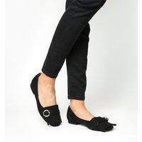 Office Felicity Fringe Detail Loafer BLACK
