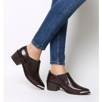 shop for Office Molloy- Western Shoeboot DARK CHOC LEATHER at Shopo