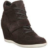 shop for Ash Bowie Wedge Ankle Boot BISTRO SUEDE at Shopo