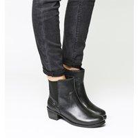 shop for UGG Keller Croc Boot BLACK LEATHER at Shopo