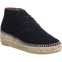 shop for Gaimo for OFFICE Gineva Espadrille boots NAVY SUEDE at Shopo