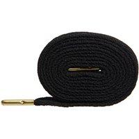 Mr Lacy Flatties 130cm BLACK GOLD TIP
