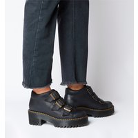 Dr. Martens Coppola 3 Tie Boot BLACK BURNISHED WYOMING