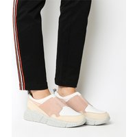 shop for Oki Kutsu Hideki Slip On Runner BLUSH GREY at Shopo