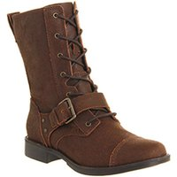 UGG Marela Lace boots DARK CHESTNUT LEATHER