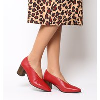 shop for Vagabond Eve Block Heel RED at Shopo