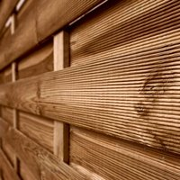 1.8m x 1.8m Horizontal Weave Pressure Treated Fence Panel
